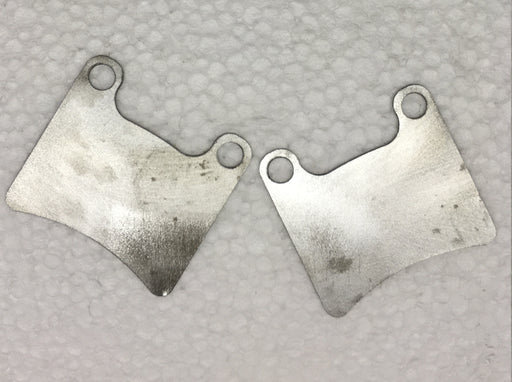 Front Brake Pad Shim - 2014 Italkart and Intrepid - Italian Motors USA LLC