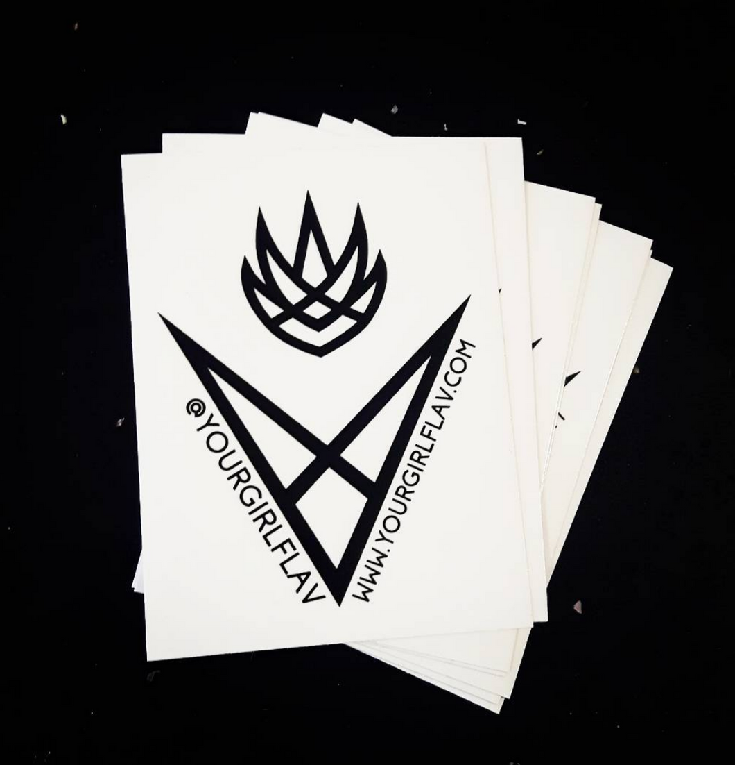Pack of 5 YGF Stickers