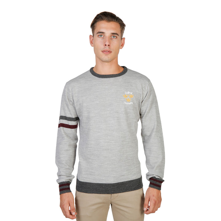 Oxford University Férfi Pulóver OXFORD_TRICOT-CREWNECK