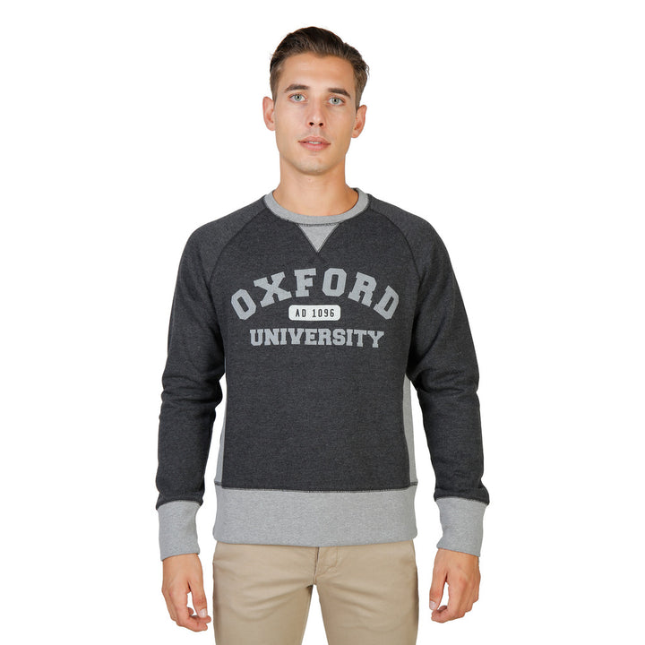 Oxford University Férfi Pulóver OXFORD-FLEECE-RAGLAN