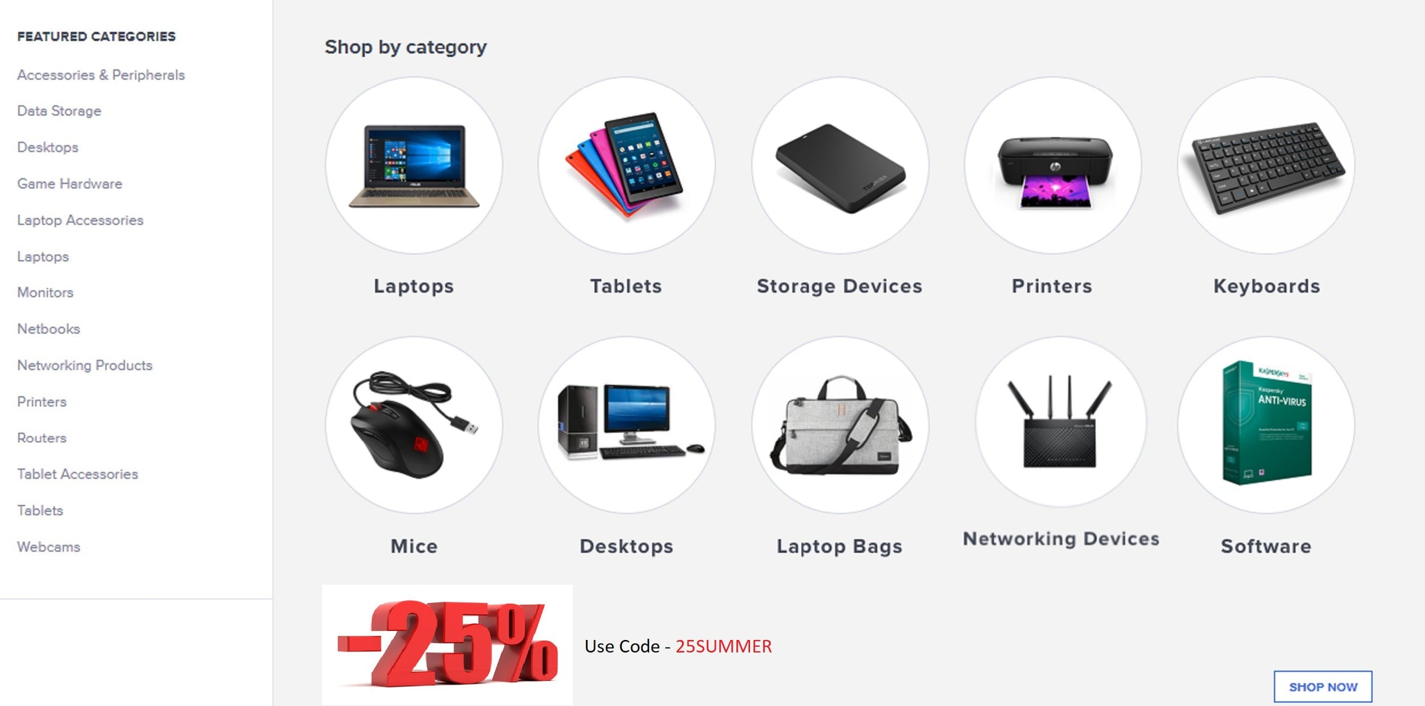 Computer and accessories page full2shopping.in