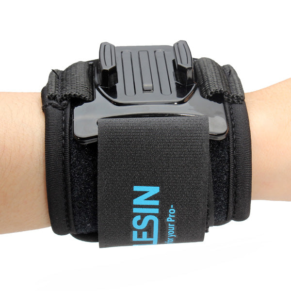 TELESIN 360 Degree Rotation Wrist Hand Strap Mount For Gopro Hero 2 3 3 Plus