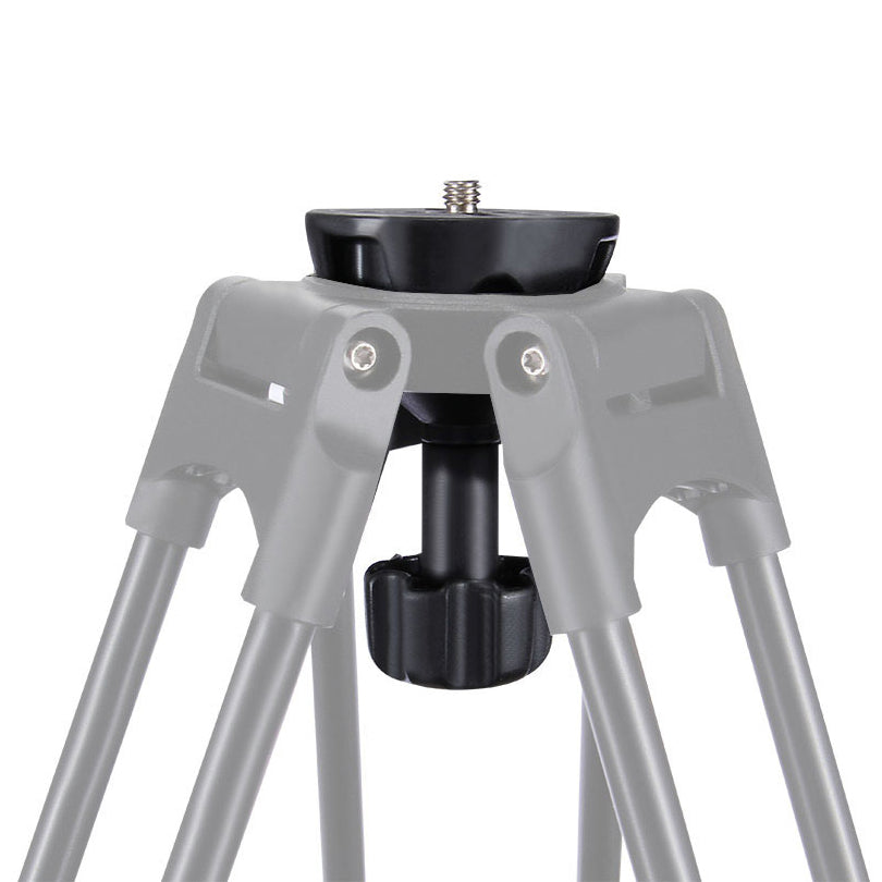 PULUZ PU3503 75mm Metal Half Ball Flat to Bowl Adapter for Fluid Head Tripod DSLR Rig Camera