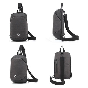 Multi-Functional Waterproof Anti-Thief Crossbody Sling Sports Shoulder Chest Bag