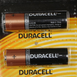 Duracell Copper & Black AA Alkaline Battery Pack of 6