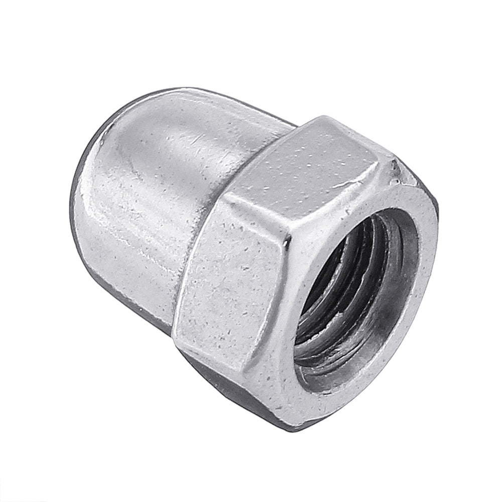 10pcs M5 Metric DIN1587 Stainless Steel Acorn Nut Hexagon Dome Cap Nut Round Head Cover Nut