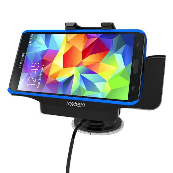 iMobi4 Car Mount Holder Cradle Charger For Samsung Galaxy S5 i9600