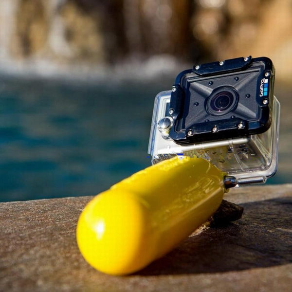 PULUZ Flat-Bottomed Solid Color Bobber Floating Hand Grip Buoyancy Rods for Gopro Yi Sport Camera