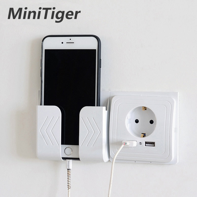Minitiger Smart Home 2A Dual USB Port Wall Charger Adapter Charging Socket With usb