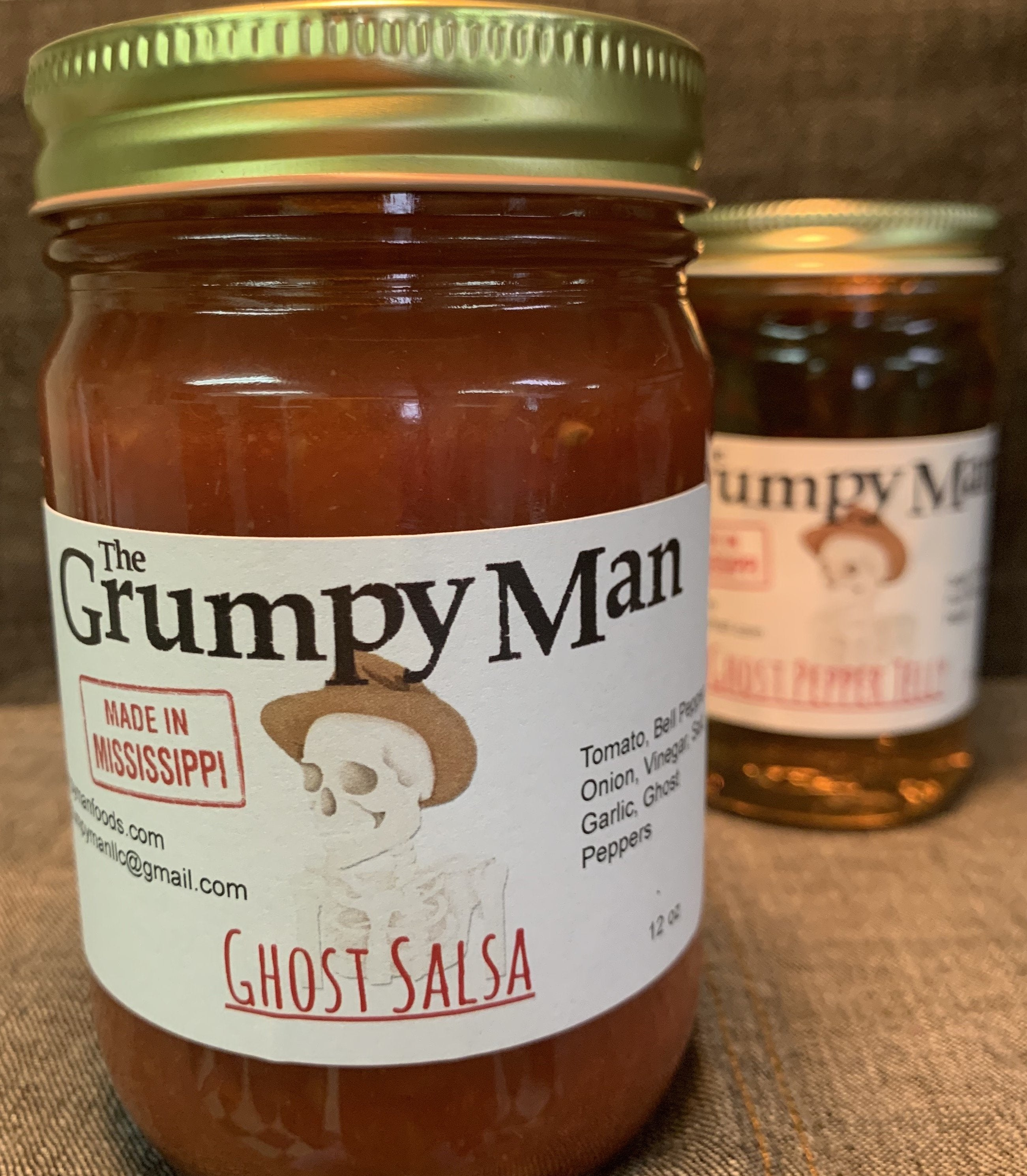 Ghost Pepper Jelly & Salsa Combo