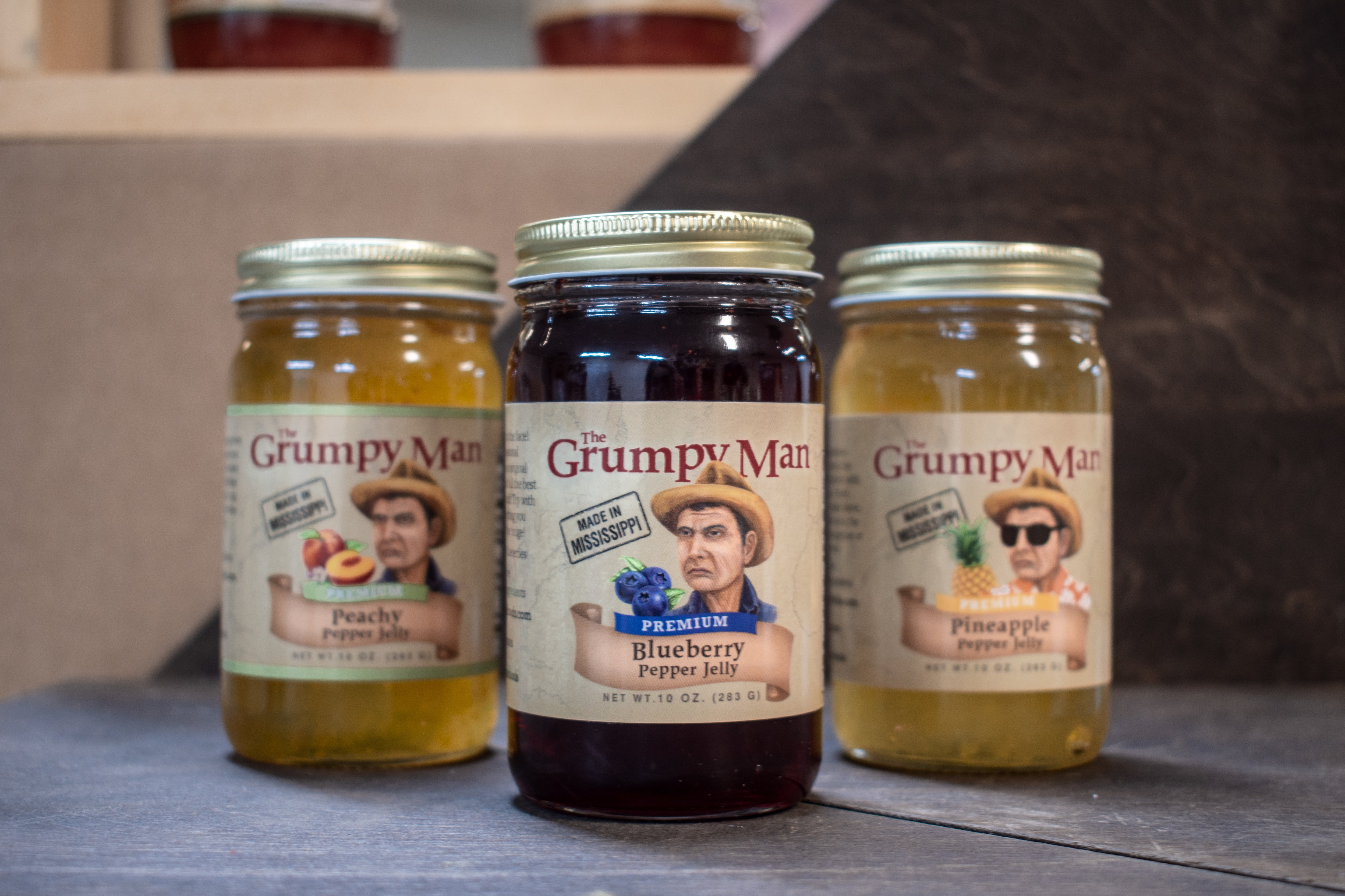 Summer Pepper Jelly (Peachy, Pineapple & Blueberry)