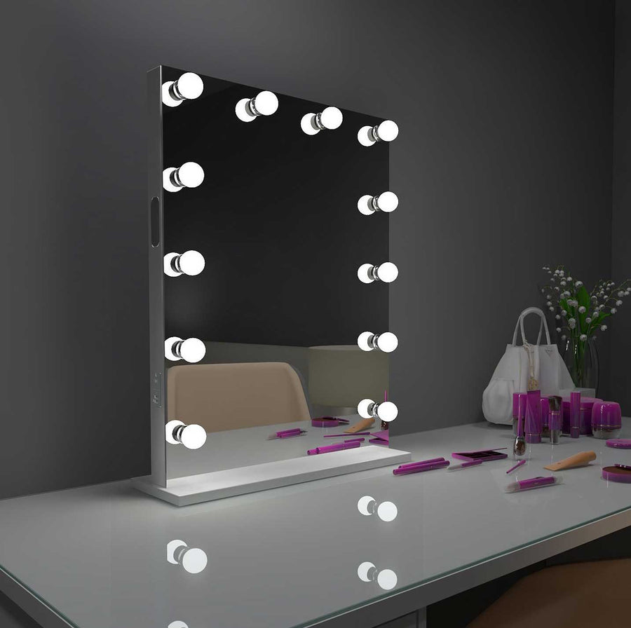 24x32 bluetooth grace hollywood lighted mirror backlit