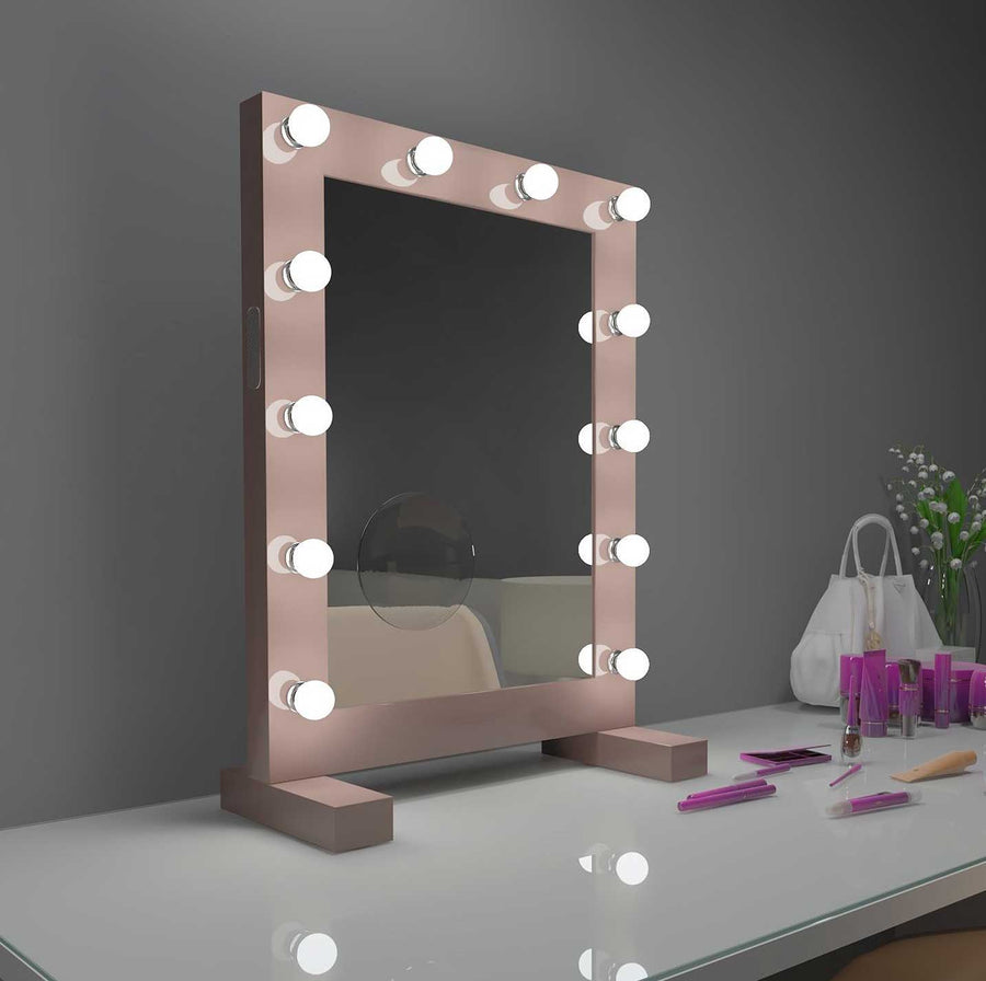 24x32 sarah bluetooth hollywood lighted mirror backlit
