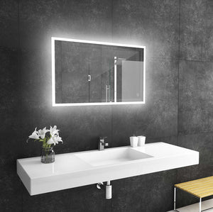 40x24 reflection rectangle lighted mirror backlit