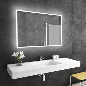 48x32 reflection rectangle lighted mirror backlit