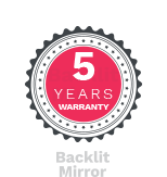 5 years warranty promise