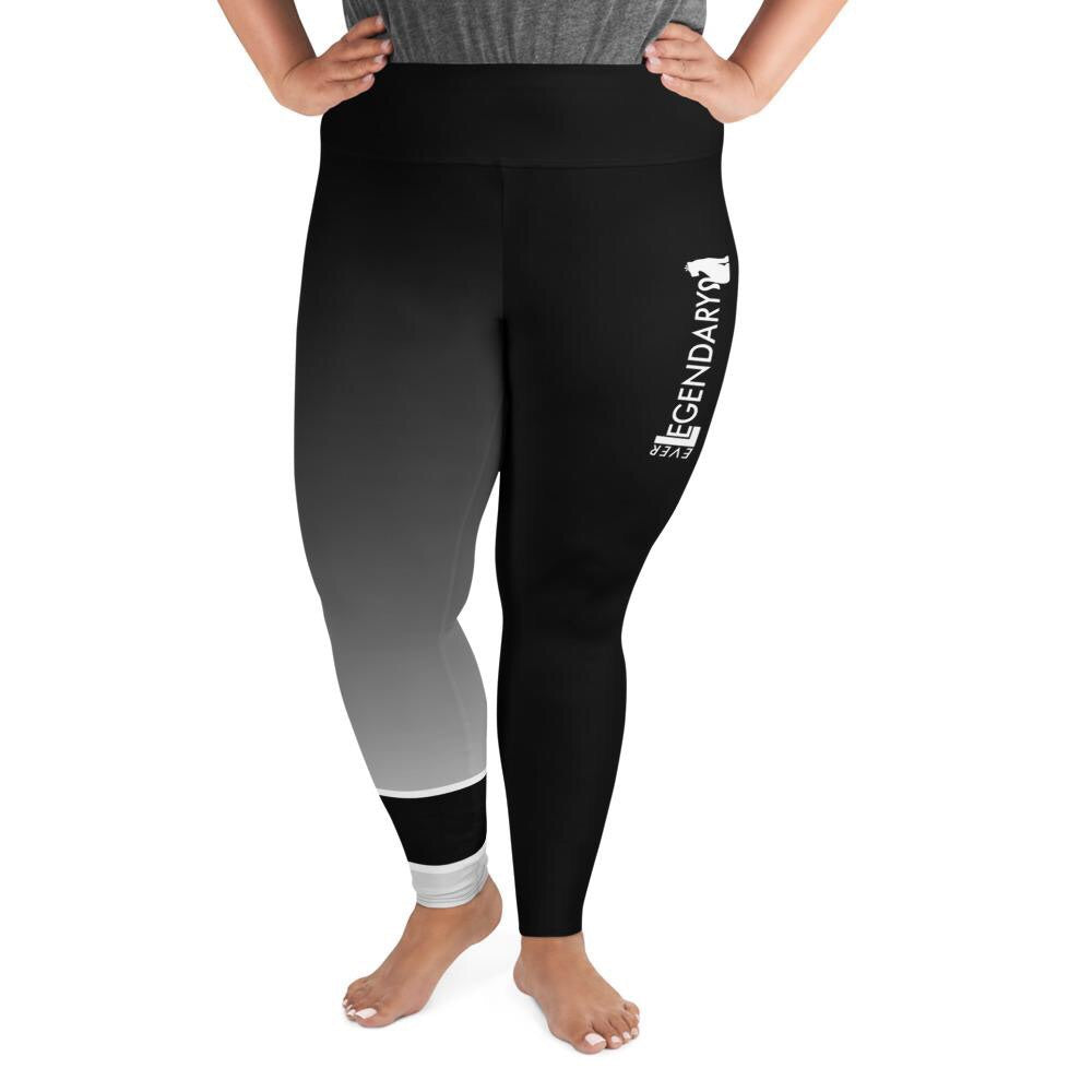 Women's BJJ Ranked Leggings | Plus Size | All Ranks - EverLegendary athletic Wear For Yoga, Weight Lifting, & BJJ/Jiu Jitsu