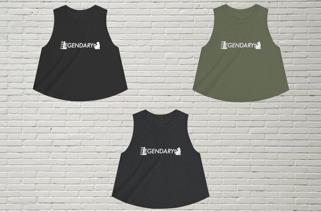 Women's Croptop | EverLegendary - EverLegendary athletic Wear For Yoga, Weight Lifting, & BJJ/Jiu Jitsu