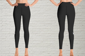 "Women's Leggings | "" White Belts Are People Too"" - EverLegendary athletic Wear For Yoga, Weight Lifting, & BJJ/Jiu Jitsu"