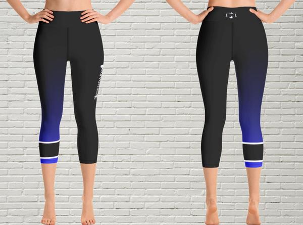 Women's BJJ Ranked Capri Leggings | All Adult Ranks - EverLegendary athletic Wear For Yoga, Weight Lifting, & BJJ/Jiu Jitsu