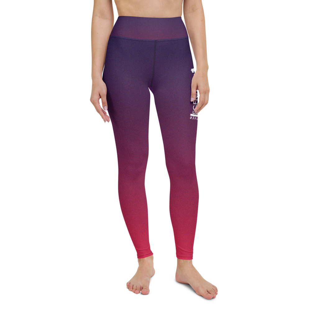 "Color Melt Leggings | ""Açaí Raspberry Sorbet"" 