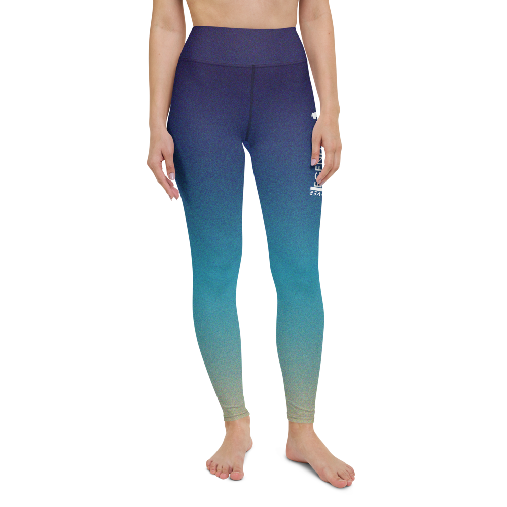 "Color Melt Leggings | ""Sea Side"" 