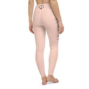 Color Leggings | Skin Pink | LOVE Heartbeat