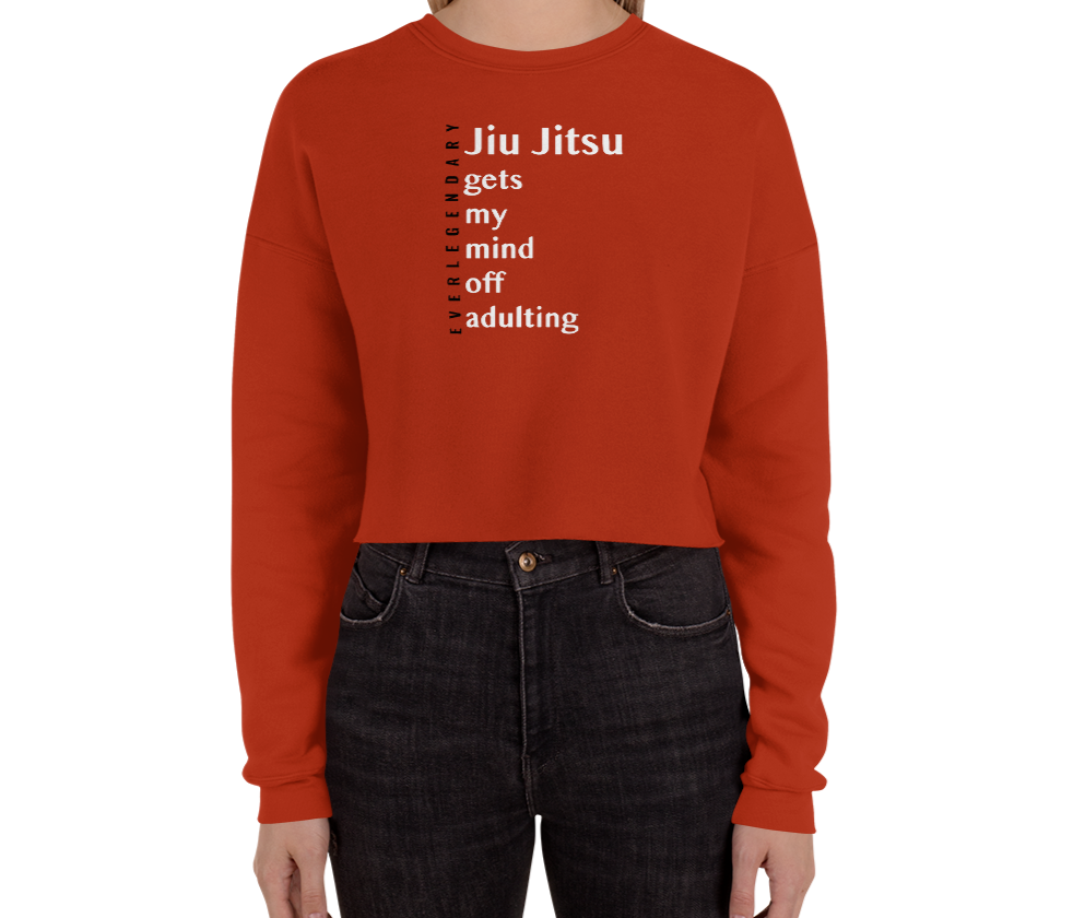 """Jiu Jitsu Gets My Mind Off Adulting"" 