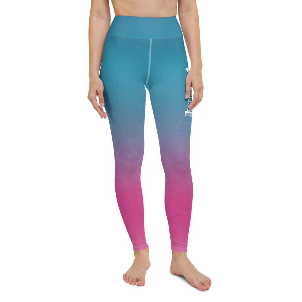 "Color Melt Leggings | ""Cotton Candy Smile"" 