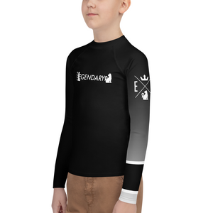 Rise Up BJJ | Youth Ranked Rashguard | All Ranks
