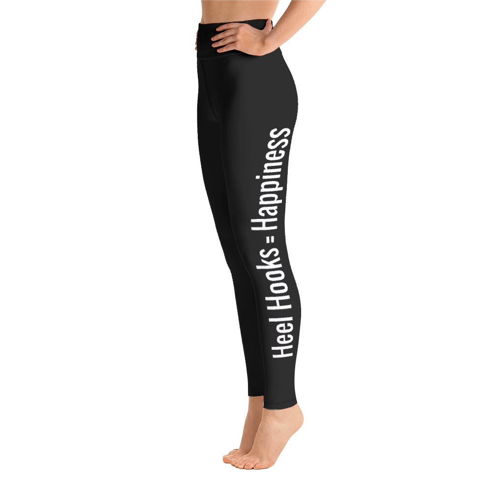 "Women's Leggings | ""Heel Hooks = Happiness"""