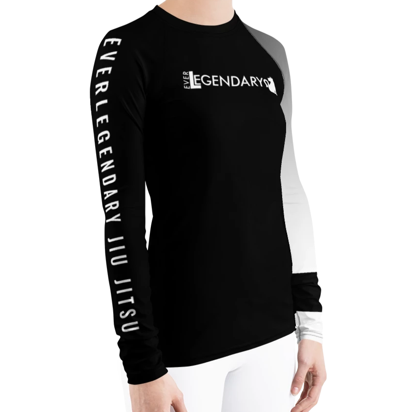 Women's BJJ Ranked Rashguard | All Ranks