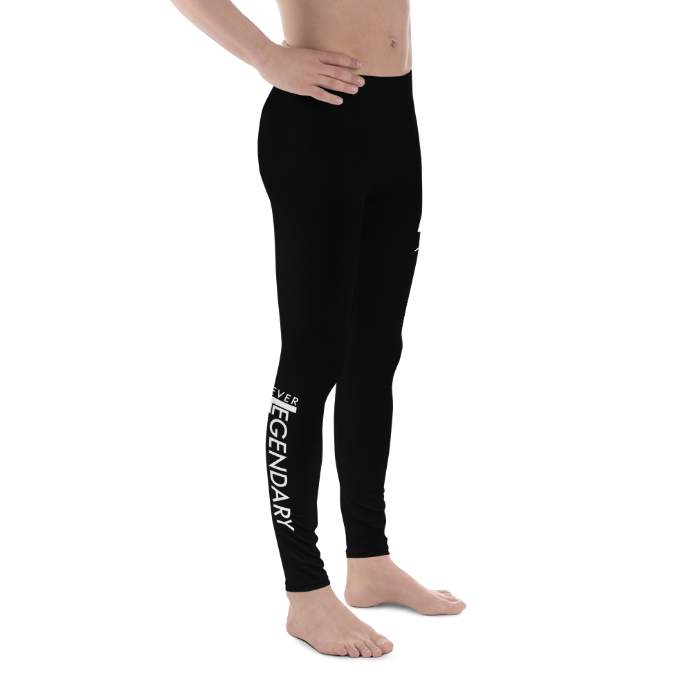 Colors Leggings | Men's | Black - EverLegendary athletic Wear For Yoga, Weight Lifting, & BJJ/Jiu Jitsu