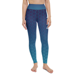 "Color Melt Leggings | ""Ocean View"" 