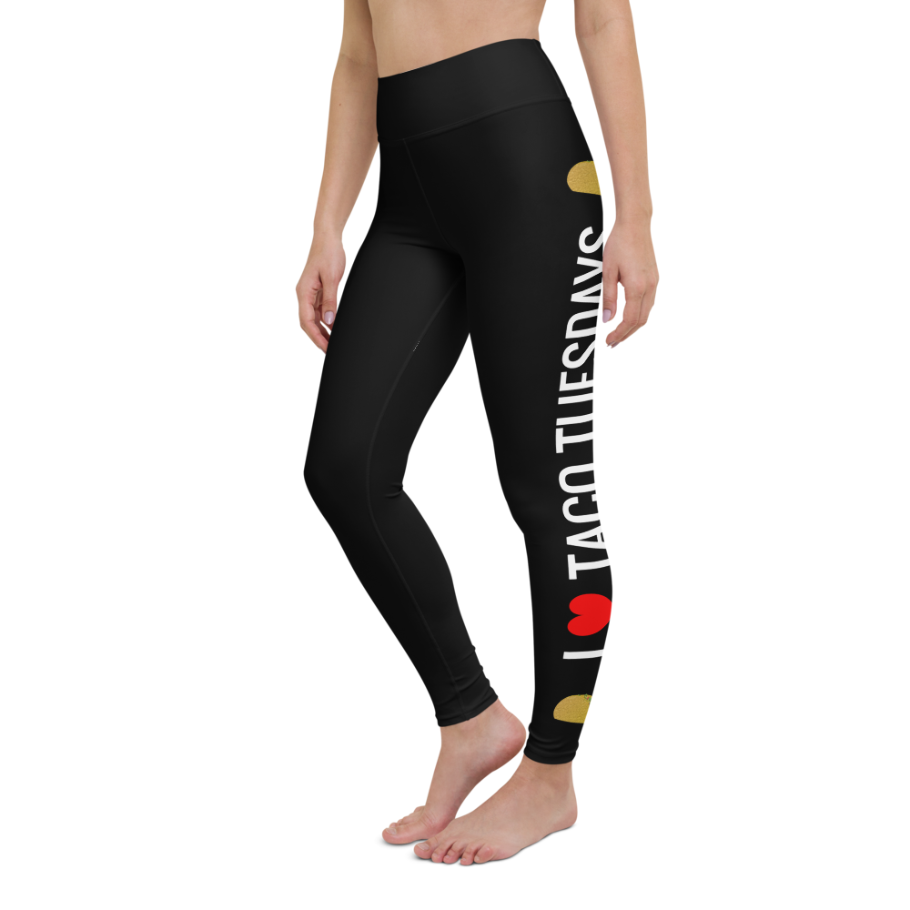 "Foodie Leggings | ""I Heart Taco Tuesdays"" 