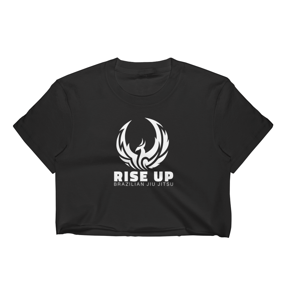 Rise Up BJJ Women's Crop Top