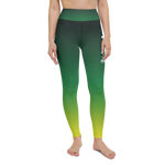 "Color Melt Leggings | ""Lemon Lime Sunshine"" 