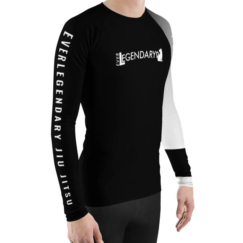 Men's BJJ Ranked Rash Guard | All Ranks