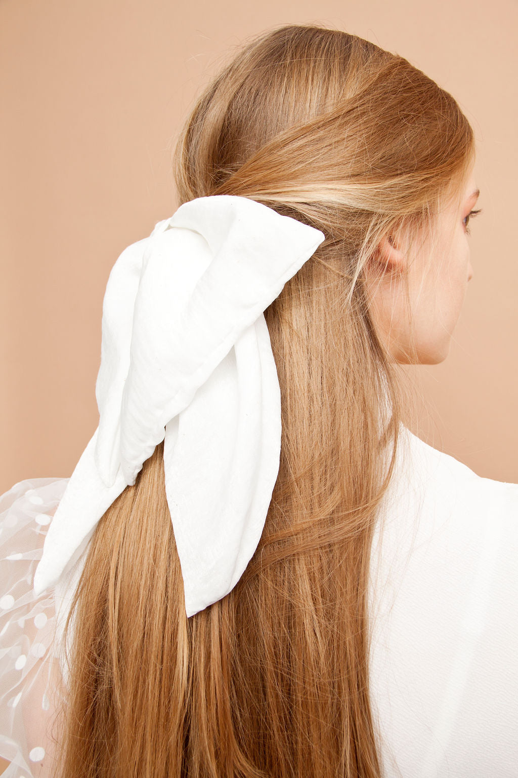 Edit Silk Bow Hairclip