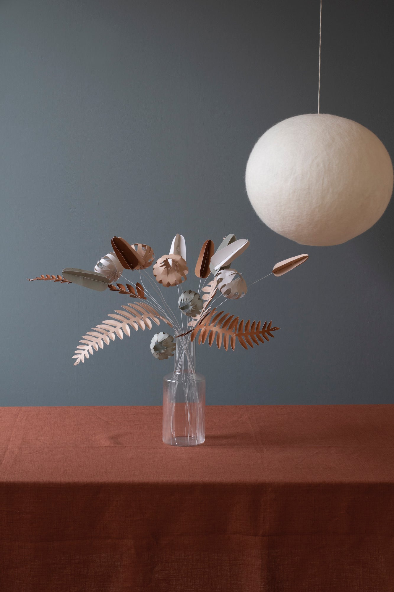 KORE II - DIY paper flowers and wire