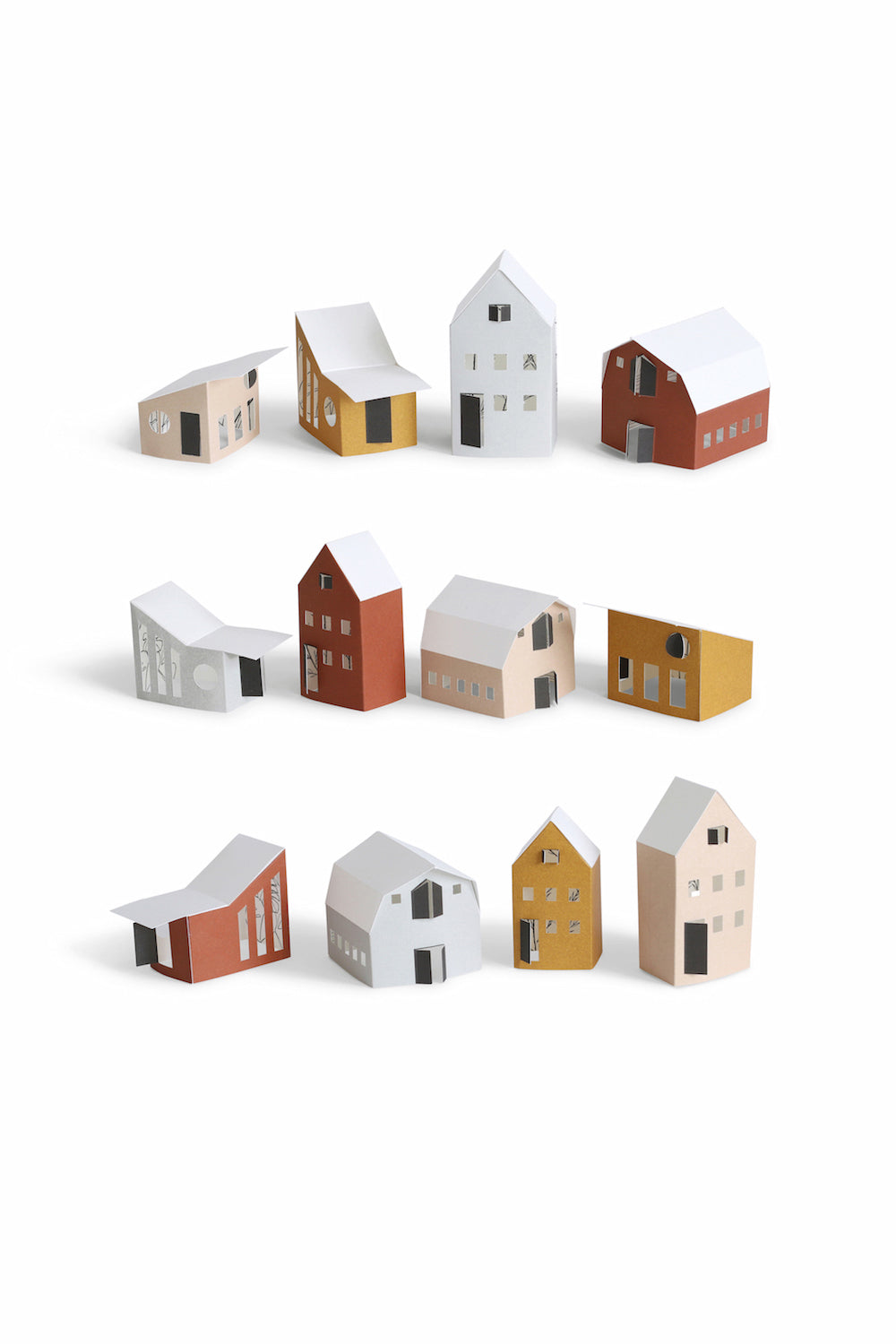 BYGGE tiny paper houses