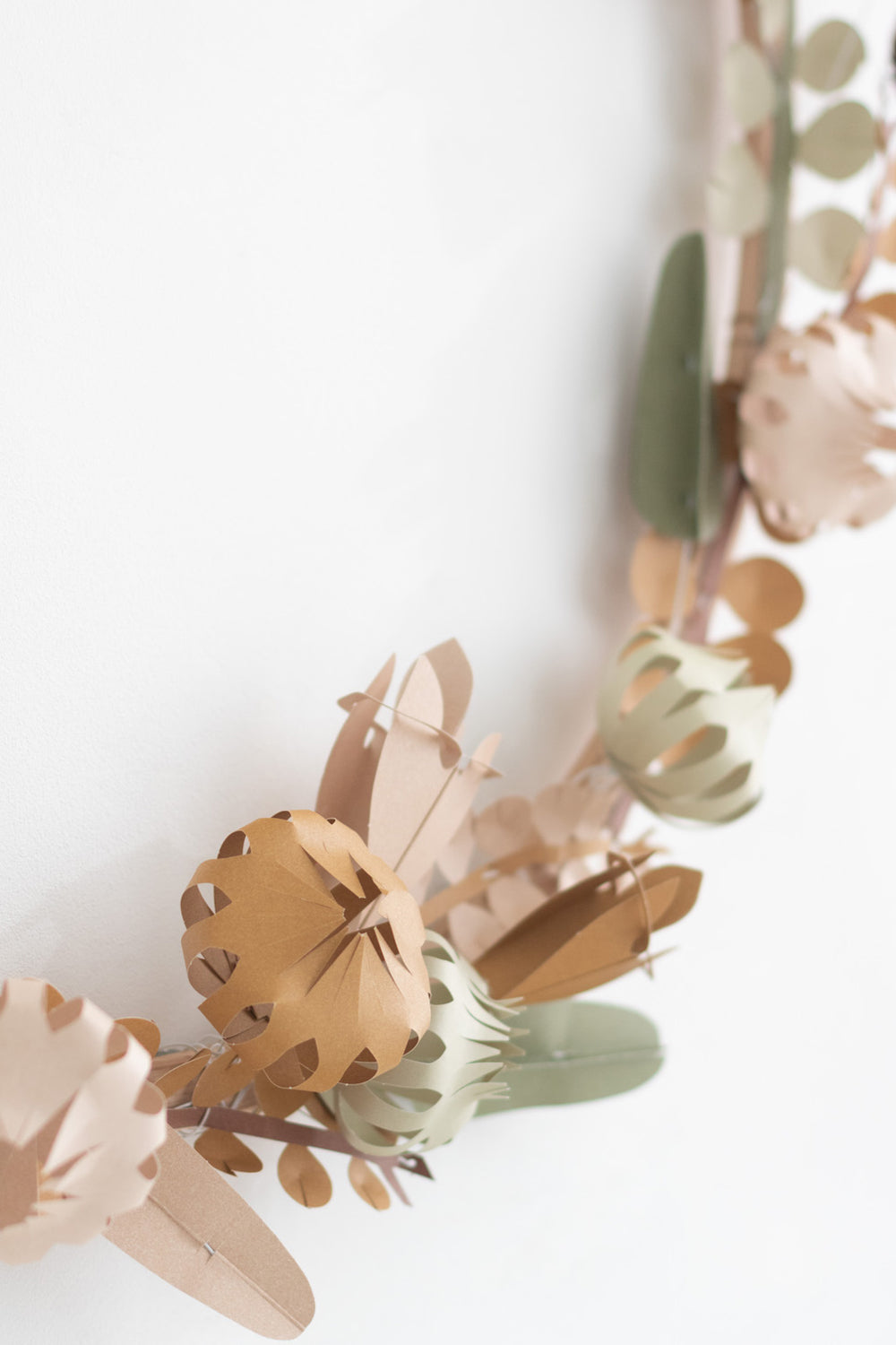 FIELD - large DIY paper flowers with wire