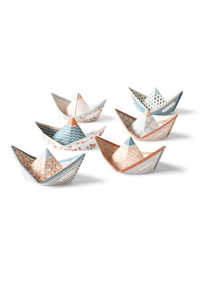 SWEET FLEET paper boats
