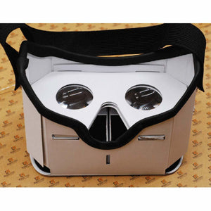 3D Google DIY VR BOX Virtual Reality Glasses Cardboard Game Movie Private Theater For Iphone Android Cellphone