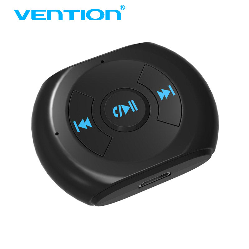 Vention 3.5mm Jack AUX Bluetooth Music Receiver Car Kit Wireless Audio Adapter with Mic Headphone Adapter Aux For Xiaomi iPhone