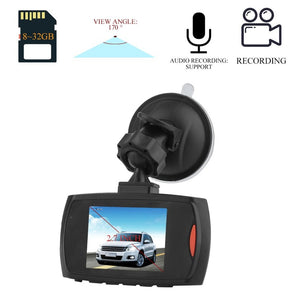 2.7 inch HD TFT LCD 4:3 Car DVR Camera Dash Cam Video LCD Display Night Vision Vehicle 170 degree Camera Recorder Motion Detect