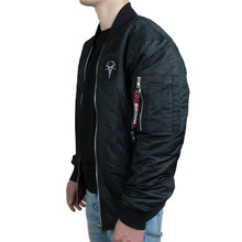 Load image into Gallery viewer, Skink Reversible Bomber Jacket