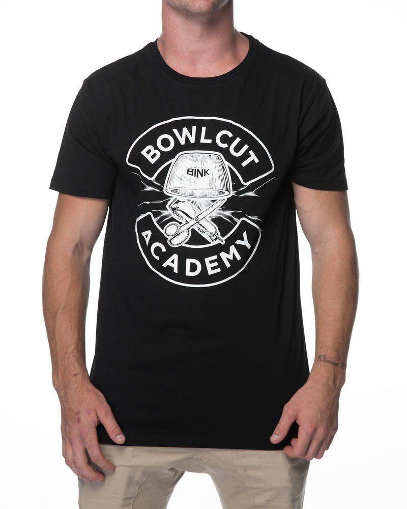 Bowl Cut Academy Tee