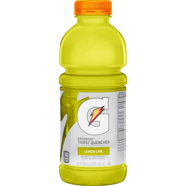 Gatorade Lemon Lime (20oz)