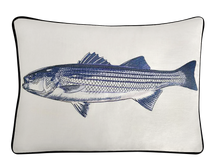 Load image into Gallery viewer, Striped Bass Pillow Cover